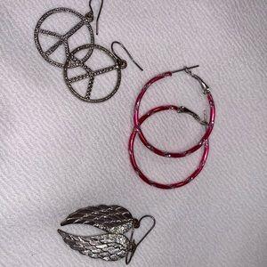 3 Kid Earrings